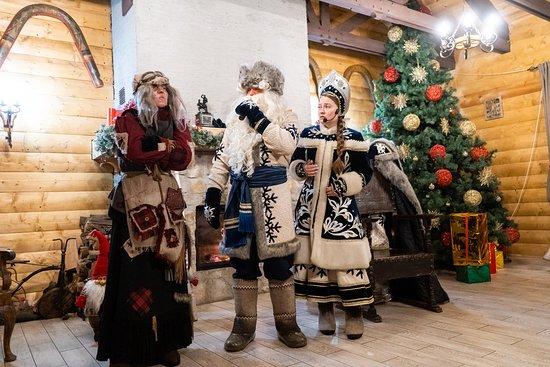 лесная резиденция Деда Мороза