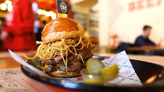 House of B: Double Trouble Burger