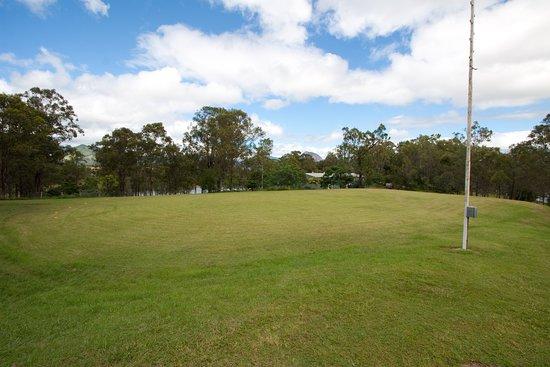Moogerah, أستراليا: Our large sports field. 