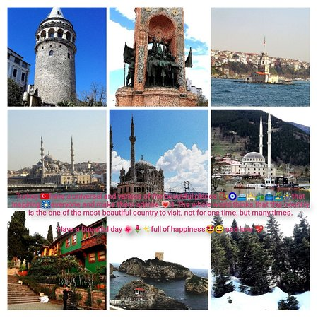 Turcja: Turkey 🇹🇷have a universal and various of the beautiful places 📿🧿🛳️🕌🏞️🗻🏝️🎡that inspiring 🎇everyone and make them admire 💗it. The whole world thinks that this country is the one of the most beautiful country to visit, not for one time, but many times.  Have a bueatful day 🌺🌷✨full of happiness🤩😆 and love 💖