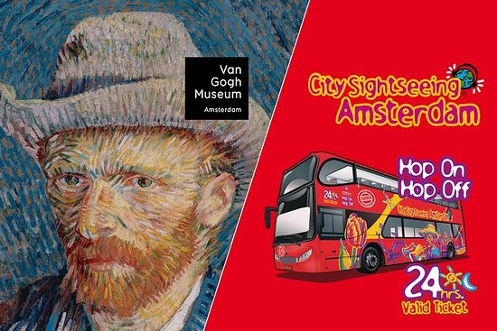 Amsterdam Combo: Van Gogh Museum & City Sightseeing Hop-On Hop-Off Bus – fénykép