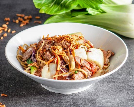 Nouilles khmer sautées