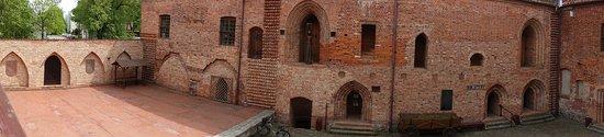 Ostroda, Polandia: Inside view - made with panorama