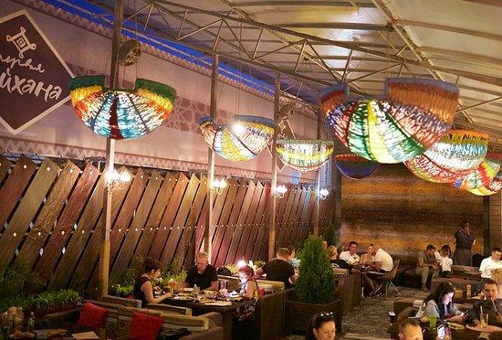 Терраса 3го этажа ресторана Первая Чайхана