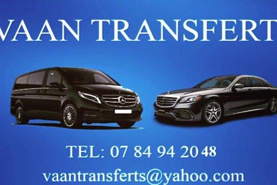 Paris Private Taxi Vaan Transferts
