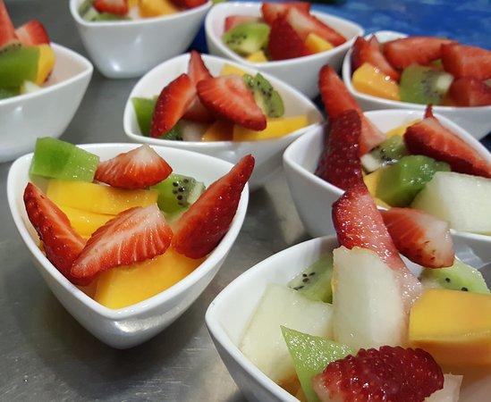 Macedonia de fruta