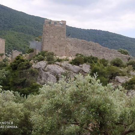 Porto Germeno, Greece: Το φρούριο της Αρχαιας Αιγασθενας
