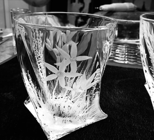 Whiskey glass any idea can be hand engraved by me