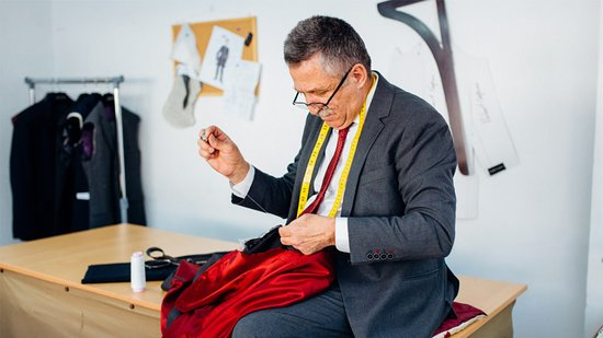 Anghel Constantin, master tailor in Bucharest and Targoviste, Romania. Bespoke and made-to-measure tailoring