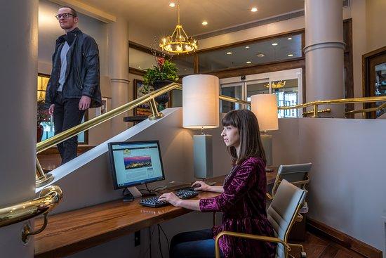 Hotel Lobby- Business Center