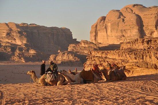 2 dias 1 noite em Wadi Rum Jeep Tour
