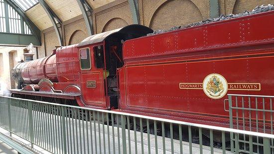 Тот самый поезд Хогвардс