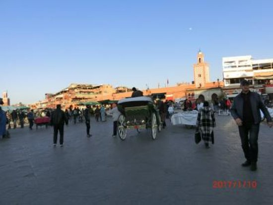 Medina of Marrakech Walking Tour: フナ広場