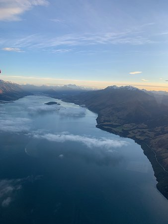 Views over Lake Wakatipu as we returned to Queenstown