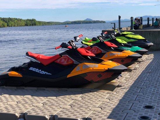 Magog, Kanada: Flotte motomarine été 2019
