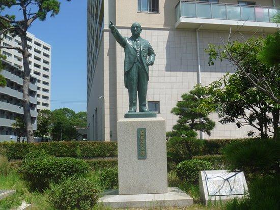 Statue of Yamada Kishimatsu