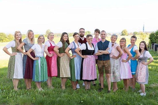 Tittmoning, Almanya: Das Serviceteam