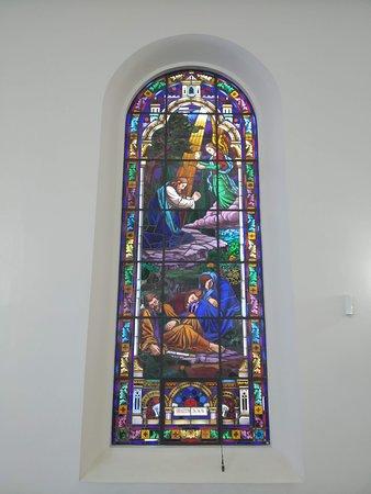 Vitral da Igreja da Paz