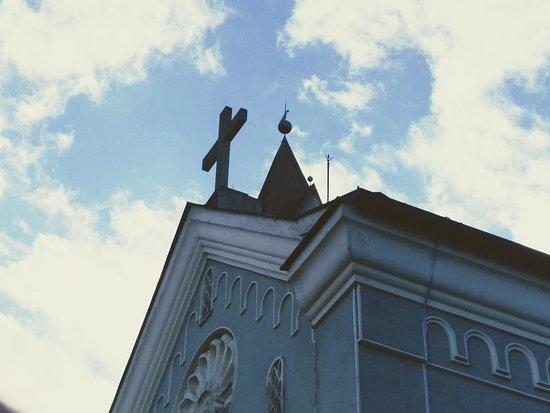 Fachada da Igreja da Paz