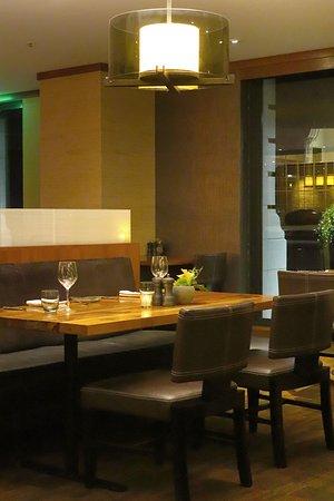 Parallel 37 in the Ritz Carlton San Francisco at 600 Stockton St, atop Nob Hill - Interiors