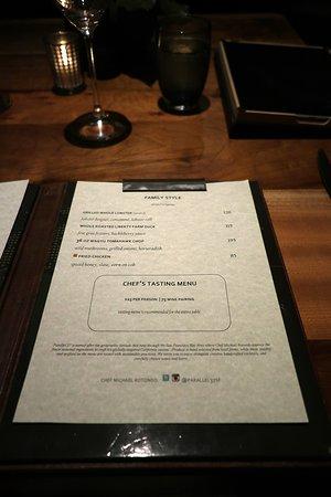 Parallel 37 in the Ritz Carlton San Francisco at 600 Stockton St, atop Nob Hill - Tasting Menu
