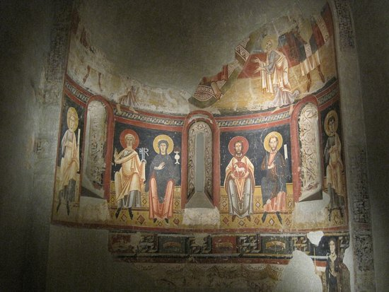 Apse of Burgal (end XI century) (church of the ancient monastery of St. Pere del Burgal)