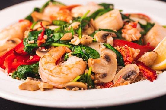 Stoughton, MA: Seafood Leah