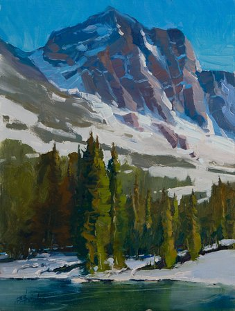 Now Introducing our newest artist to the gallery, Doug Swinton ! many of you may know him as the owner of Swintons art studios in Calgary AB. Doug has been a painter for a while also on the Side for many years and shows tremendous talent in painting !