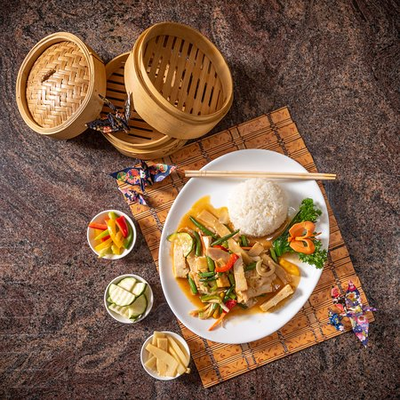 Nr 53 Tofu mit Gemüse no 53 tofu with vegetables