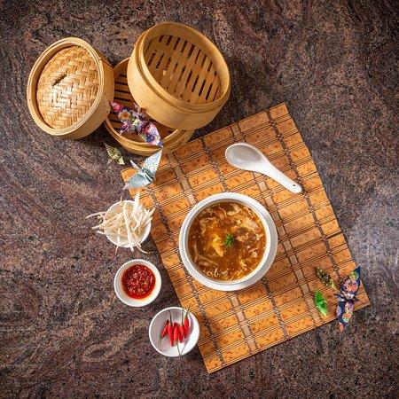 Nr 2 Pekingsuppe mit Poulet no 2 peking soup with chicken