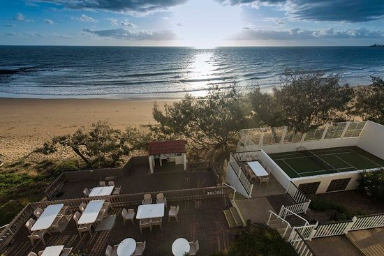 view from our beach front units