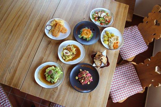 Naše nová jídla v menu