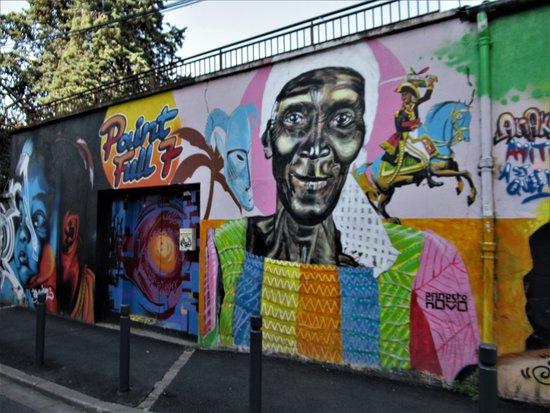 """Fresque """"mur Marcel Sembat05 Novo"""""""