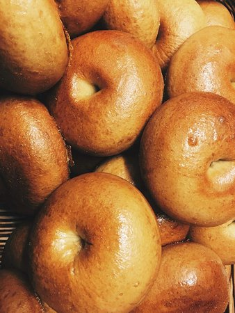 Our bagels are made fresh every day, with love and care