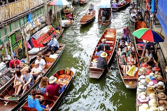 Private Amphawa Floating Market and...