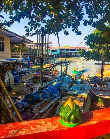 תאילנד: Fishing village of Hua Hin on the Gulf of Thailand