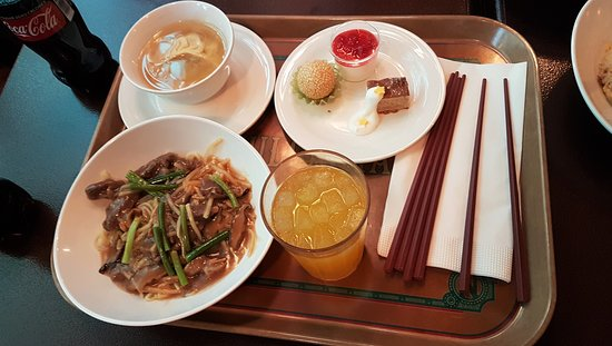 Chef's Special Set: Pan-Fried Noodles