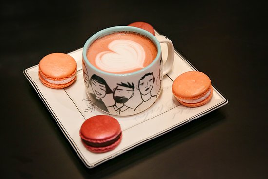 Old Greenwich, كونيكتيكت: We make SAKU superfood lattes and macarons from MACARON PARIS (NYC)
