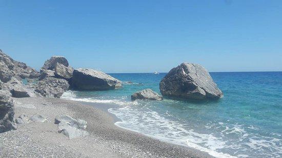 Η παραλία τα γλυκά νερά