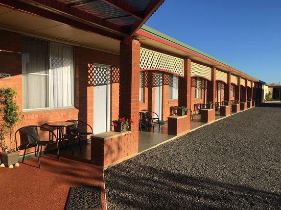 Quirindi, Australia: Plenty of parking lots of comfort