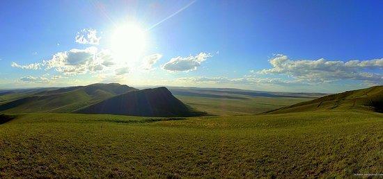 Republic of Khakassia, Russia: Happy Summer! ;) Three panoramas from Khakassia from the Yenisei
