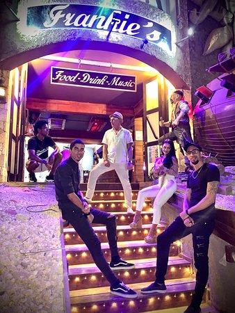 Team at Frankie's Bar