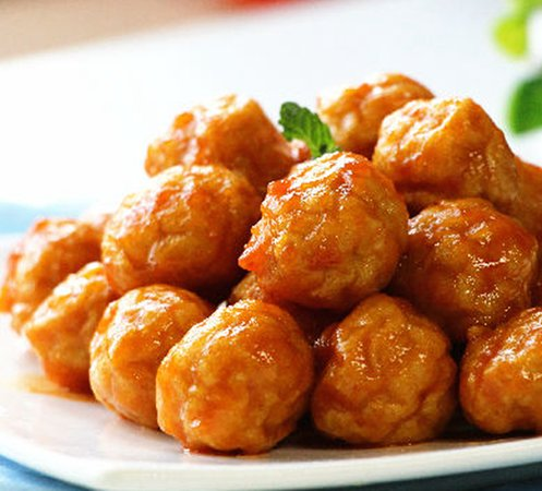 Sweet and Sour Chicken Ball