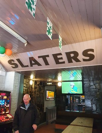 Slaters Bar on Slater Street.