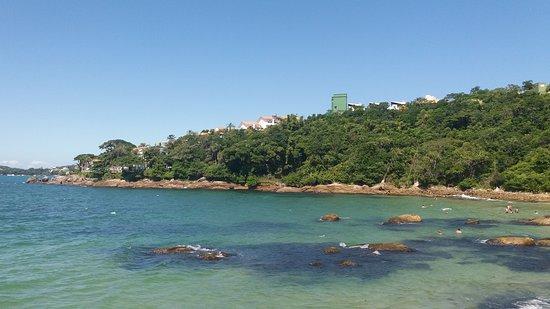 Bombinhas, SC: Vamos ate a praia do Ribeiro para mais um ponto de mergulho.