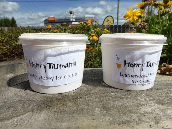 Exeter, أستراليا: Honey icecream