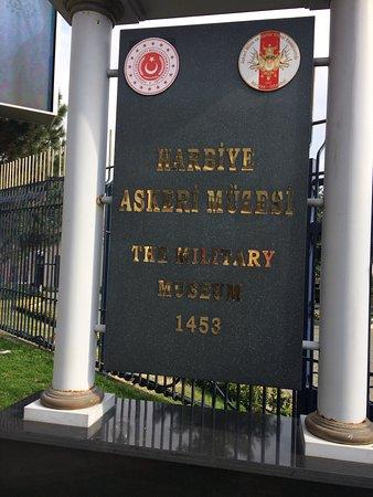 Isztambul, Törökország: Harbiye Askeri Müzesi