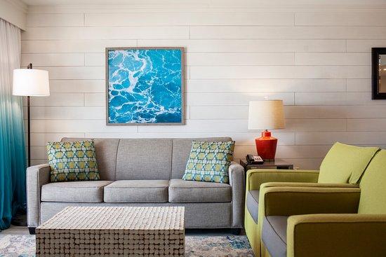 3 Bedroom Oceanfront Condo Living Room
