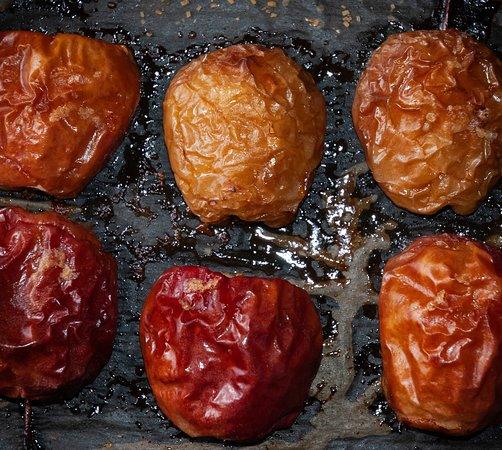 Caramelised Apples for our Soft Shell Crab Tempura Bun