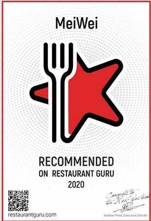 MeiWei: Anbefalt av Restaurant Guru